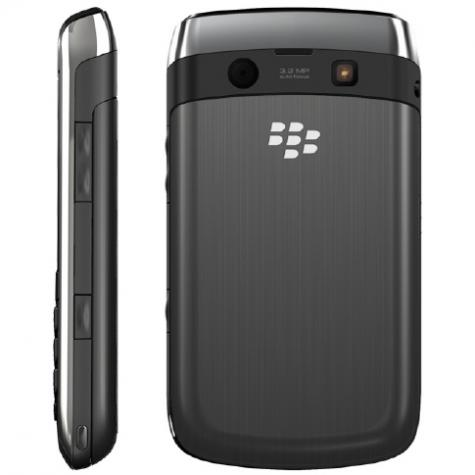 BlackBerry Curve 8980 front and side view