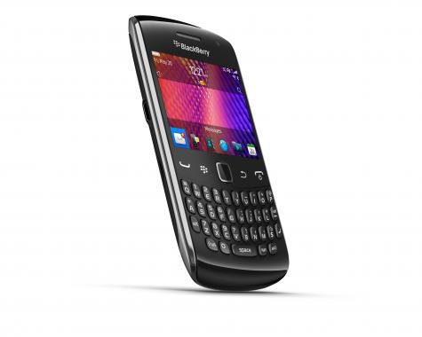 BlackBerry Curve 9370 front and side view