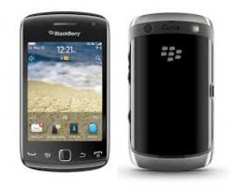 BlackBerry Curve 9380 front and side view