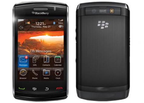 BlackBerry Storm2 9520 front and side view