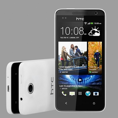HTC Desire 816 front and side view