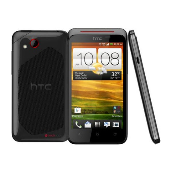 HTC Desire P front and side view