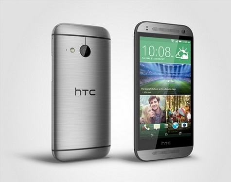 HTC One Remix front and side view