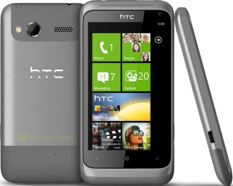 HTC Radar front and side view