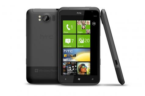 HTC Titan front and side view