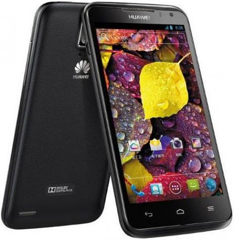 Huawei Ascend D1 XL U9500E front and side view