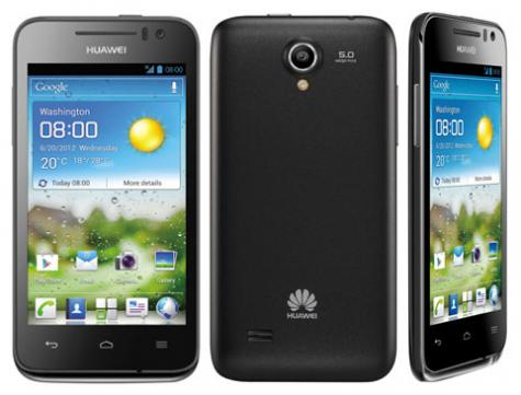 Huawei Ascend G330D U8825D front and side view