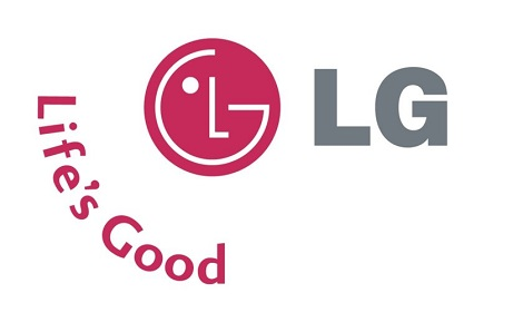 LG Logos front and side view
