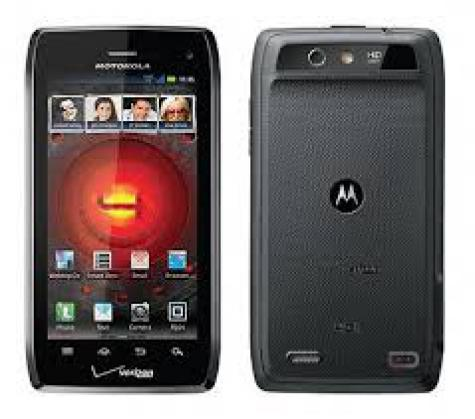 Motorola DROID 4 XT894 front and side view
