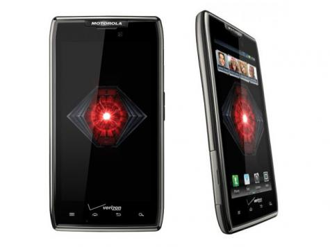 Motorola DROID RAZR MAXX front and side view