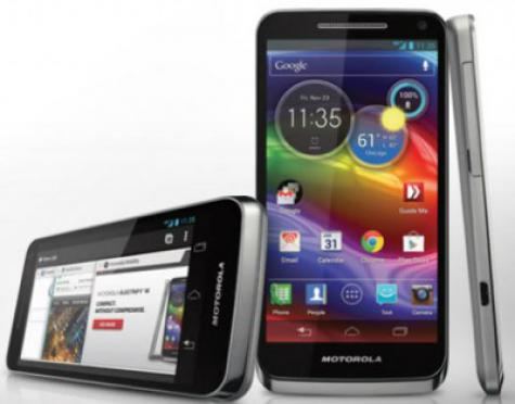 Motorola Electrify M XT905 front and side view