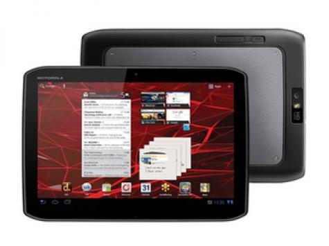Motorola XOOM 2 Media Edition 3G MZ608 front and side view