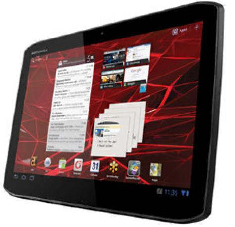 Motorola XOOM 2 MZ615 front and side view