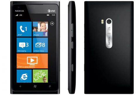 Nokia Lumia 929 front and side view
