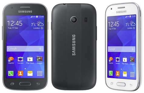 Samsung Galaxy Ace Style front and side view