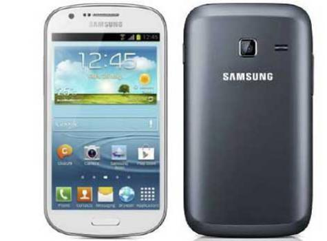 Samsung Galaxy Fame S6810 front and side view