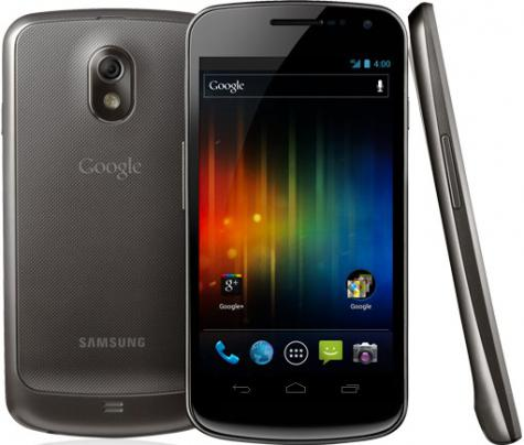 Samsung Galaxy Nexus I9250M front and side view