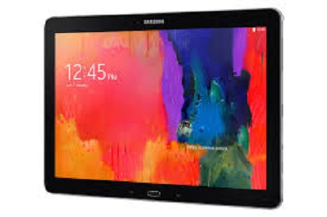 Samsung Galaxy Note Pro 12.2 LTE front and side view