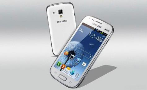 Samsung Galaxy Premier I9260 front and side view