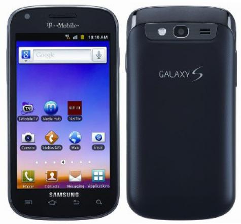 Samsung Galaxy S Blaze 4G T769 front and side view