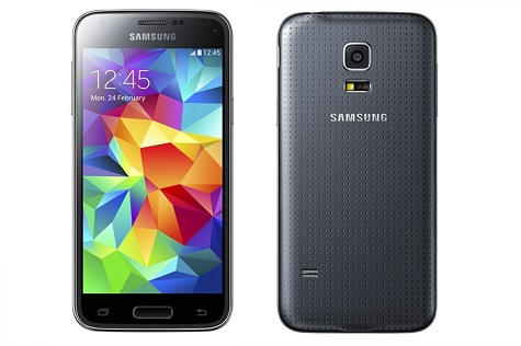 Samsung Galaxy S5 mini front and side view