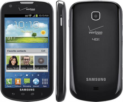 Samsung Galaxy Stellar 4G I200 front and side view