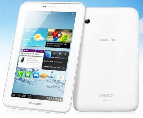Samsung Galaxy Tab 3 7.0 P3200 front and side view