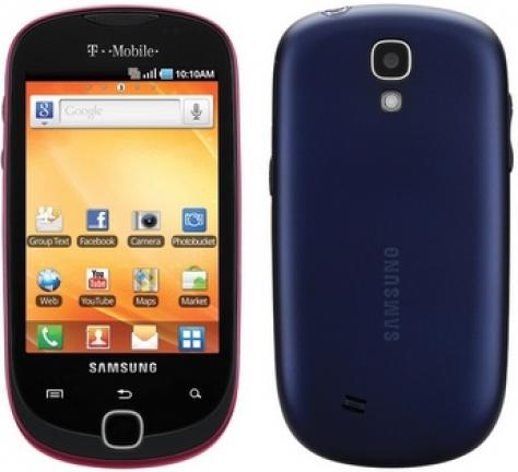 Samsung Gravity SMART front and side view