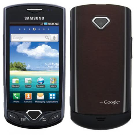 Samsung I100 Gem front and side view