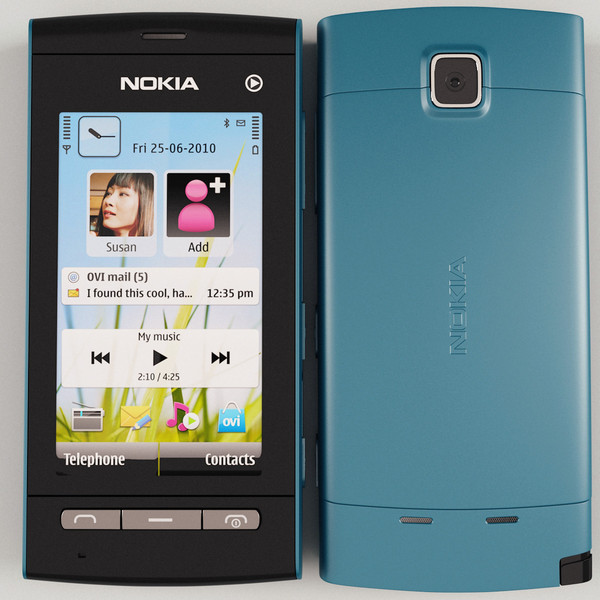 Nokia 5250 front and side view