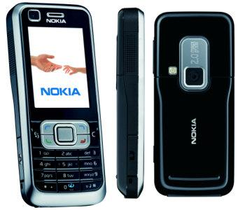 Nokia 6120 classic front and side view