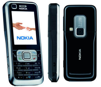 Nokia 6121 classic front and side view