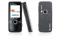 Nokia 6124 classic front and side view