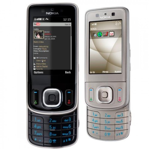 Nokia 6260 front and side view