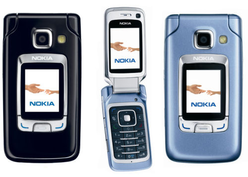 Nokia 6290 front and side view