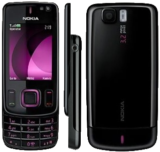 Nokia 6600 front and side view