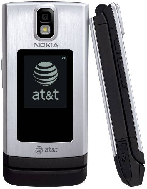 Nokia 6650 fold front and side view