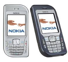 Nokia 6670 front and side view