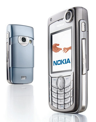 Nokia 6680 front and side view