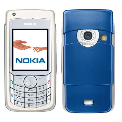 Nokia 6681 front and side view