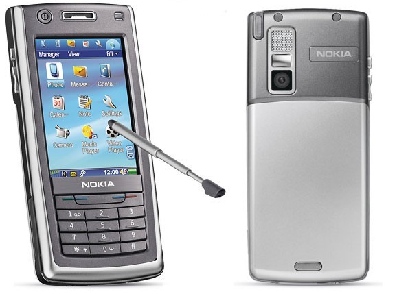 Nokia 6708 front and side view