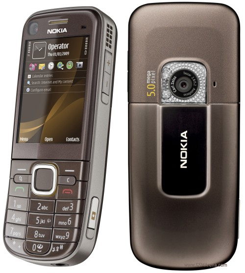 Nokia 6720 classic front and side view