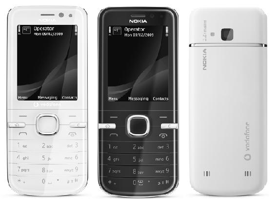 Nokia 6730 classic front and side view