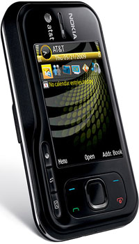 Nokia 6790 Surge front and side view