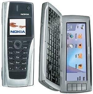 Nokia 9500 front and side view