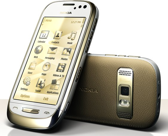 Nokia Oro front and side view